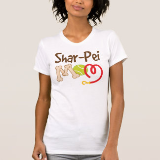 Regalo de la mamá de la raza del perro de Shar Pei Poleras