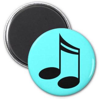 Regalo de la música de las notas musicales imán
