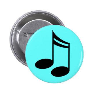 Regalo de la música de las notas musicales pins