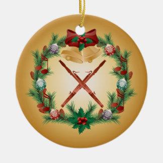 Regalo de la música del ornamento del Bassoon del Ornamentos Para Reyes Magos