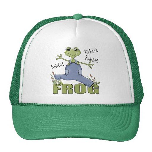 Regalo de la rana para gorras