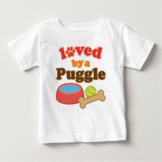 Regalo de la raza del perro de Puggle Camisas