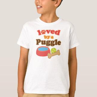 Regalo de la raza del perro de Puggle Playera
