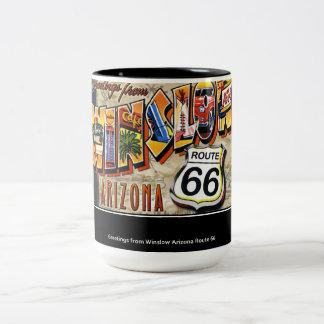 Regalo de la taza de café de Arizona Winslow