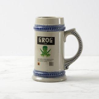 Regalo de la taza de cerveza del GROG
