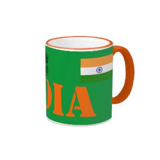 Regalo de la taza de la bandera de India*