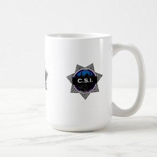 Regalo de la taza de la show televisivo de CSI