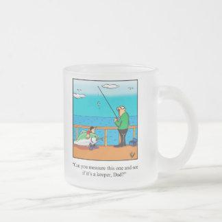 Regalo de la taza del humor de la pesca