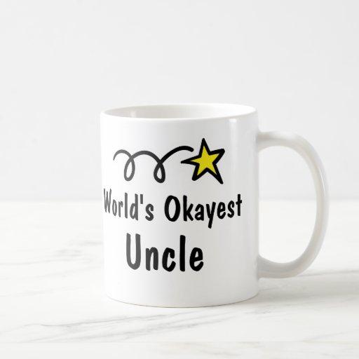 Regalo de la taza del tío café de Okayest del mund