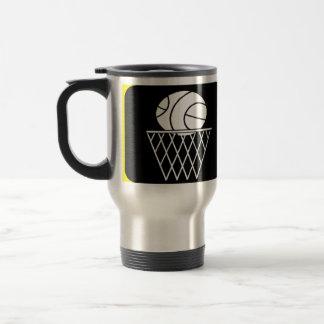 Regalo de la taza del viaje del baloncesto