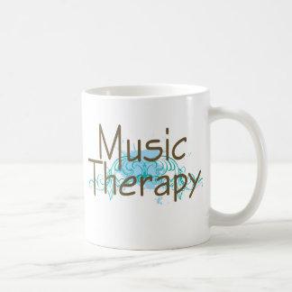 Regalo de la terapia de música taza