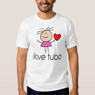 regalo de la tuba del iLove Playeras