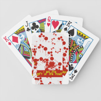 Regalo de la vida Playingcards Baraja De Cartas
