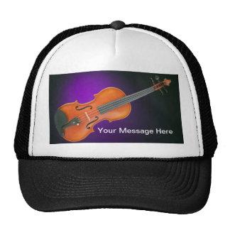 Regalo de la viola del violín gorros bordados