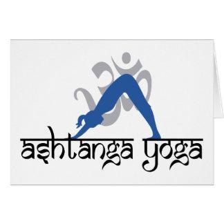 Regalo de la yoga de Ashtanga Tarjeta