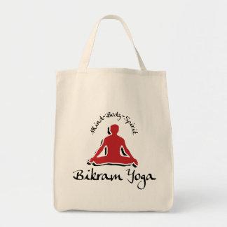 Regalo de la yoga de Bikram Bolsa Tela Para La Compra