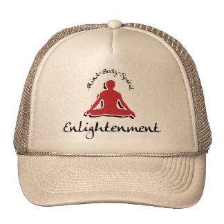 Regalo de la yoga de la aclaración gorras