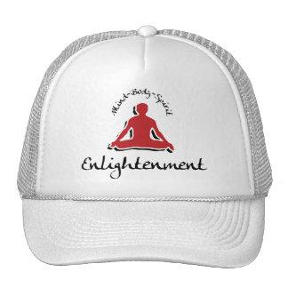 Regalo de la yoga de la aclaración gorras de camionero