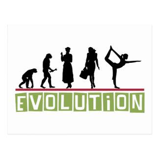 Regalo de la yoga de la evolución postales