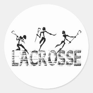 Regalo de LaCrosse Etiqueta Redonda