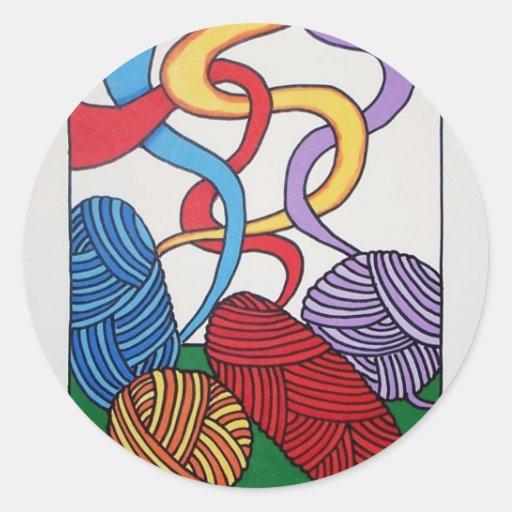 Regalo de lanas por Piliero Etiqueta
