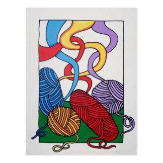 Regalo de lanas por Piliero Postales