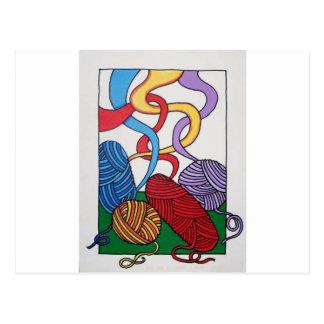 Regalo de lanas por Piliero Tarjeta Postal