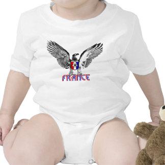 Regalo de los jugadores de fútbol de Francia Eagle Trajes De Bebé