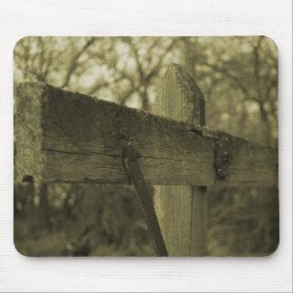 Regalo de madera del mousepad de la sepia del