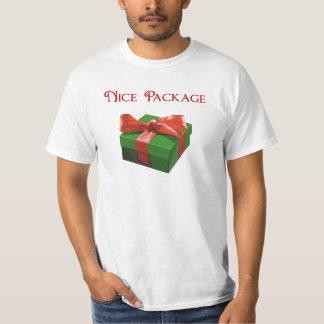 Regalo de Navidad agradable del paquete Playera