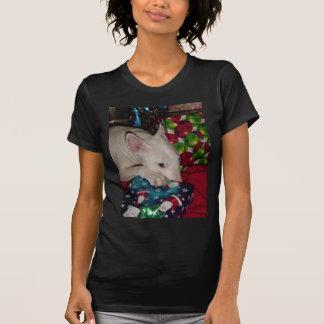 regalo de Navidad de bull terrier del inglés Camiseta