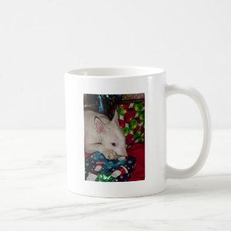 regalo de Navidad de bull terrier del inglés Taza