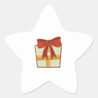Regalo de Navidad Calcomania Forma De Estrella