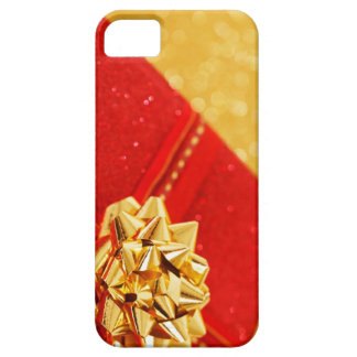 Regalo de Navidad rojo iPhone 5 Cárcasa