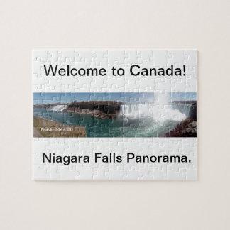 Regalo de Niagara Falls Rompecabezas