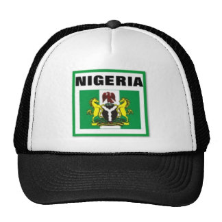 Regalo de Nigeria (África) Gorro De Camionero