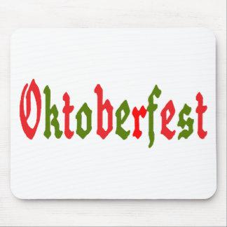 Regalo de Oktoberfest Tapetes De Raton
