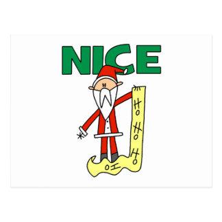 Regalo de Papá Noel del navidad Postales