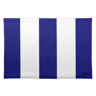 Regalo de Placemat de la raya de 2013 nuevos azule Mantel Individual