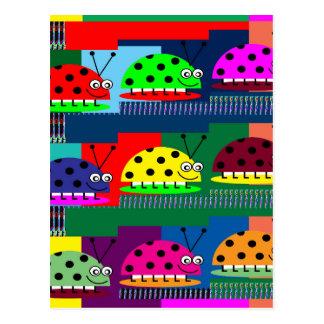 Regalo de señora Bug Fantasy Artistic KIDS de la Tarjetas Postales