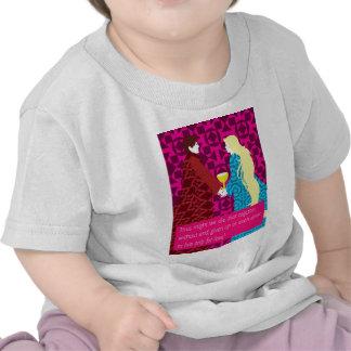 Regalo de Tristan y de Iseult con cita Camiseta