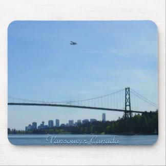 Regalo de Vancouver del cojín de ratón del recuerd Tapetes De Ratones