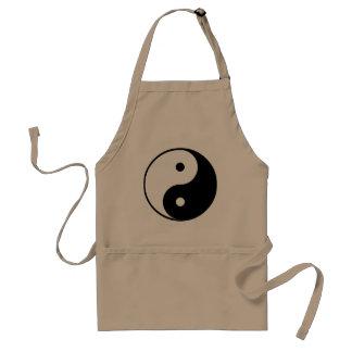 Regalo de Yin Yang Delantales