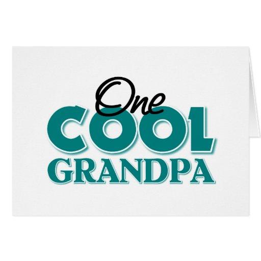 Regalo del abuelo tarjeta de felicitación