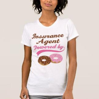 Regalo del agente de seguro (anillos de espuma) remeras