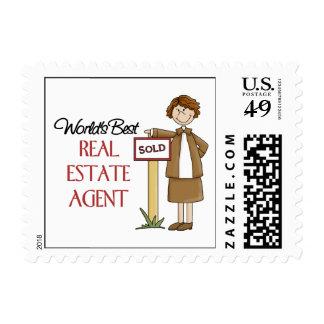 Regalo del agente inmobiliario sello