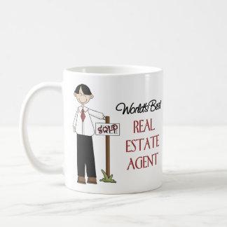 Regalo del agente inmobiliario taza clásica