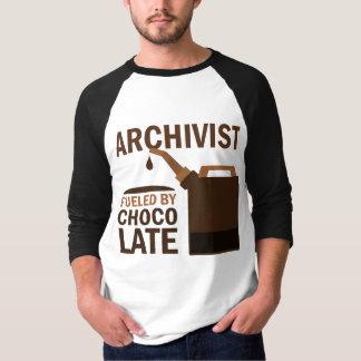 Regalo del archivista (divertido) polera
