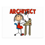 Regalo del arquitecto tarjetas postales