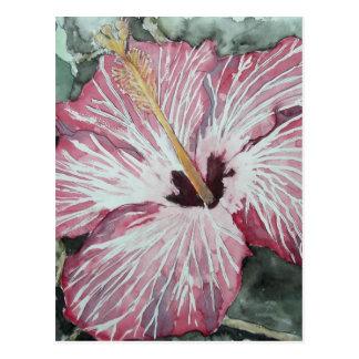 regalo del arte de la pintura de la acuarela de la tarjeta postal